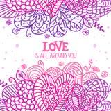 Love is around Stock Image