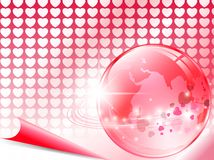 Love around world Royalty Free Stock Images