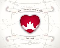 Love around the world Stock Photo
