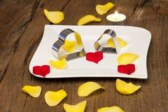 Love arrangement stock photos