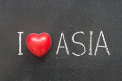 Love Asia Royalty Free Stock Images