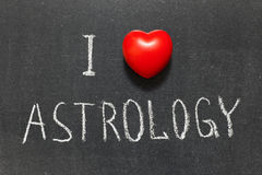 Love astrology Stock Image