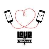 Love or attachment? Stock Photo