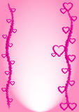 Love Background. Love abstract background with pink heart Royalty Free Stock Photography
