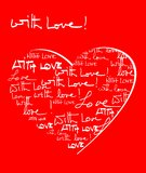 With love background Royalty Free Stock Image