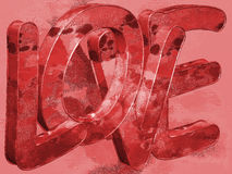 Love - Background - 3D Stock Photo