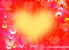 Love background. Colourful flower retro style background royalty free illustration