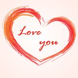 Love background heart Royalty Free Stock Photography
