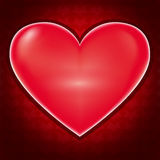 Love background with heart for Valentines day Royalty Free Stock Images