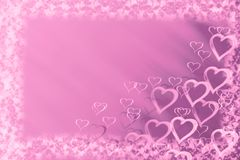 Love background with hearts stock photos