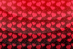 Love background with hearts Royalty Free Stock Photography
