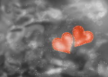 Love background hearts Royalty Free Stock Images