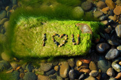 Love background, i love you, beach, valentine day Royalty Free Stock Photos