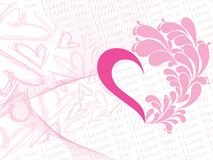 Love  background, illustration Stock Images