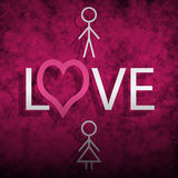 Love background Royalty Free Stock Photos