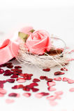 Valentine background Stock Images