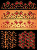 Love background texture. There are valentines textures and backgrounds with hearts Royalty Free Stock Photography