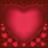 Love background for Valentines Day Stock Photography