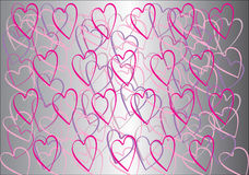 Love background. Valentines day. Card. Pattern, texture Royalty Free Stock Image