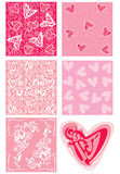 Love backgrounds and element. Royalty Free Stock Photos