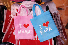 Love bags Stock Image