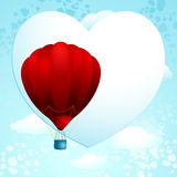 Love balloon Royalty Free Stock Image