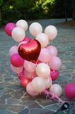 Love Balloons Royalty Free Stock Image
