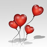 Love Balloons Royalty Free Stock Image