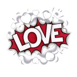 Love bang Royalty Free Stock Images
