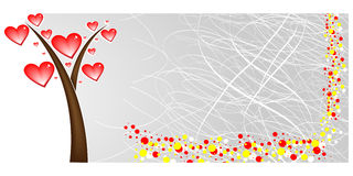 Love banner Stock Images