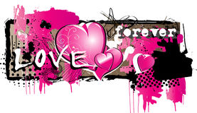 Love banner Royalty Free Stock Image