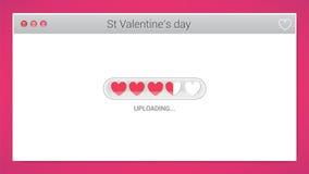Love banner Stock Image
