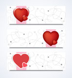 Love Banners Royalty Free Stock Photo