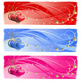 Love  banners Stock Images