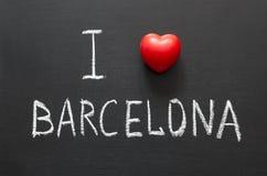 Love Barcelona Stock Photos