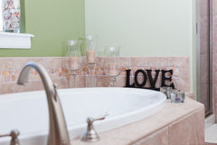 Love on the Bathtub Royalty Free Stock Photo