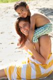 Love the beach Stock Images