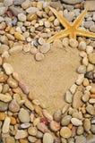 Love on the beach Stock Photos