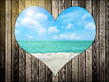 Love Beach Stock Images