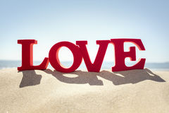 Love the beach Royalty Free Stock Photo
