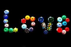 Love beads Stock Photos