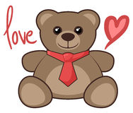 Love bear Royalty Free Stock Images