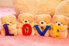 Love Bear Gang Royalty Free Stock Images