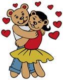 Love bears Stock Image