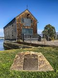 Portsmouth Black Heritage trail historical city. Love this beautiful city in New Hampshire. Historical and peaceful lovely weather Royalty Free Stock Image