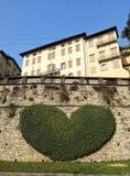 Love in Bergamo royalty free stock images