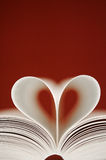 Love Between The Pages Royalty Free Stock Photos
