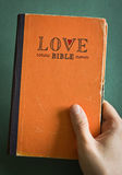Love Bible Royalty Free Stock Photo