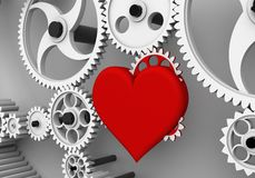 Love is the biggest driving force! Royalty Free Stock Photo