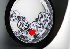 Love is the biggest driving force! Stock Image